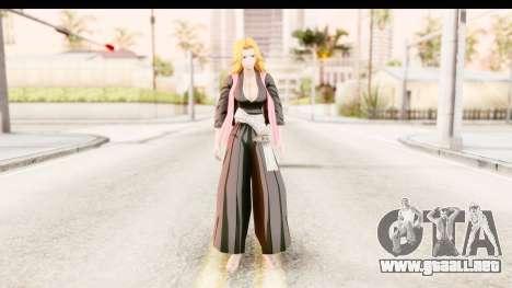 Bleach - Rangiku para GTA San Andreas segunda pantalla