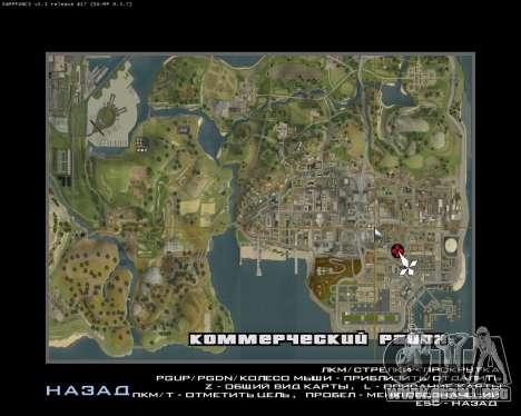 Pintar el garaje para GTA San Andreas quinta pantalla