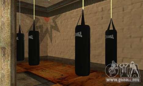 Saco de boxeo LonsDale para GTA San Andreas