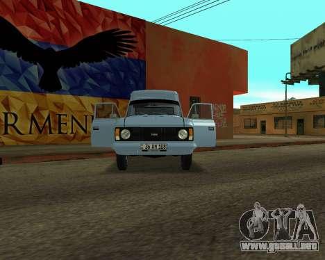 Moskvich 2715 De Armenia para GTA San Andreas left