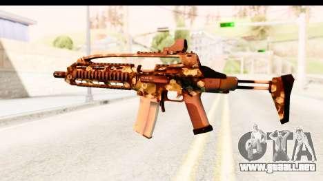 SCAR-LK Hex Camo Green para GTA San Andreas segunda pantalla