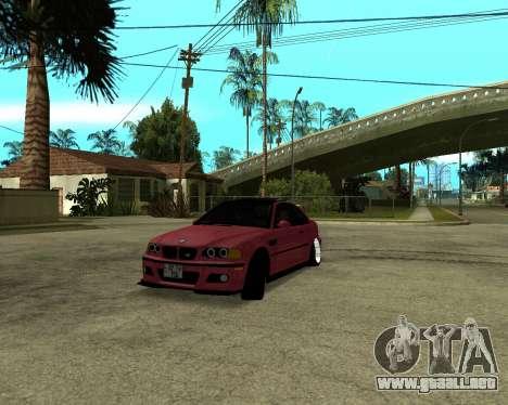 BMW M3 Armenian para GTA San Andreas left