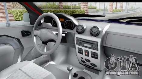 Dacia Logan MCV para visión interna GTA San Andreas