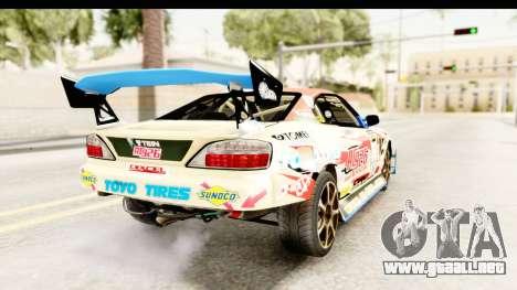 D1GP Nissan Silvia RC926 Toyo Tires para GTA San Andreas left
