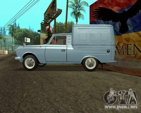 Moskvich 2715 De Armenia para las ruedas de GTA San Andreas