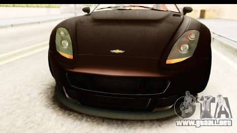 GTA 5 Dewbauchee Rapid GT SA Style para visión interna GTA San Andreas