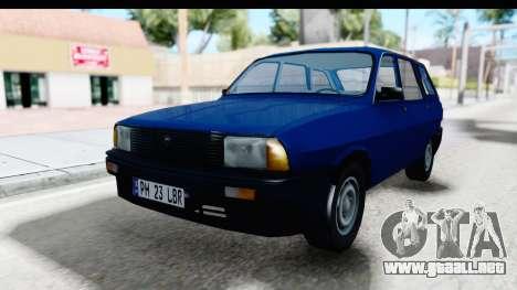 Dacia Liberta para GTA San Andreas vista posterior izquierda