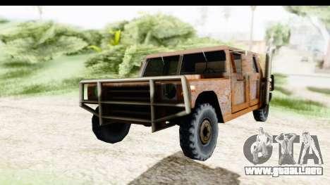 Rusted Patriot para la visión correcta GTA San Andreas