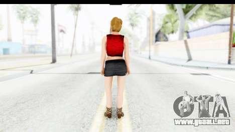 Lola Del Rio para GTA San Andreas tercera pantalla