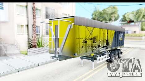 Trailer Caterpillar para la visión correcta GTA San Andreas