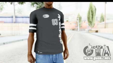 Adidas 03 T-Shirt para GTA San Andreas segunda pantalla