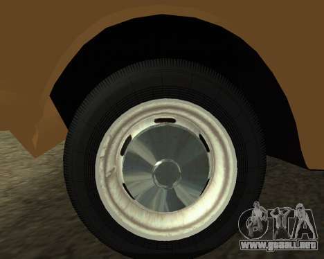 Moskvich 2715 De Armenia para GTA San Andreas vista hacia atrás