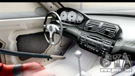 NFS Carbon - BMW M3 GTR para visión interna GTA San Andreas