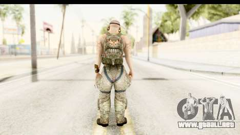 CrimeCraft Male Rogue para GTA San Andreas tercera pantalla