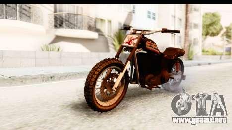 GTA 5 Western Cliffhanger Custom v1 para GTA San Andreas