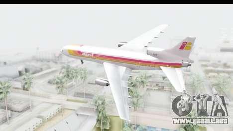 Lockheed L-1011-100 TriStar Iberia para la visión correcta GTA San Andreas