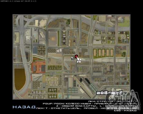 Pintar el garaje para GTA San Andreas sexta pantalla