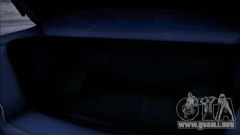 Mitsubishi Lancer GVR para GTA San Andreas vista hacia atrás