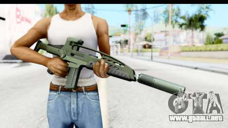 H&K XM8 Silenced para GTA San Andreas tercera pantalla