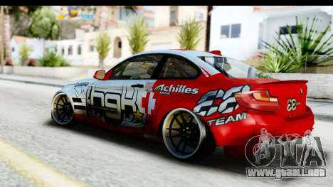 BMW M235i HGK para GTA San Andreas left