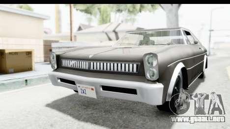 Imponte Tempest 1966 para la visión correcta GTA San Andreas