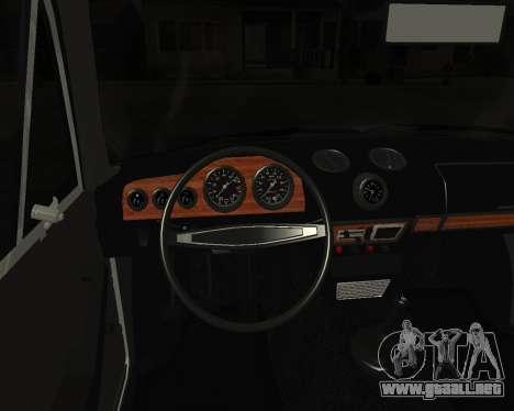 VAZ 2106 armenia para la visión correcta GTA San Andreas