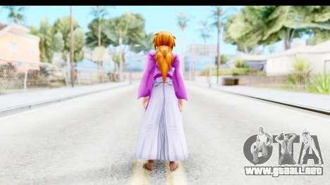 Kenshin v4 para GTA San Andreas tercera pantalla