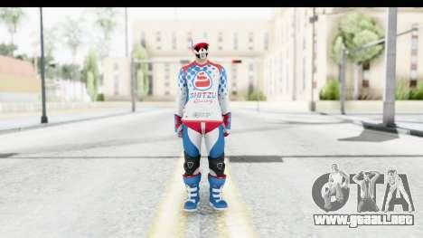 GTA 5 Online Cunning Stunts Skin 2 para GTA San Andreas segunda pantalla