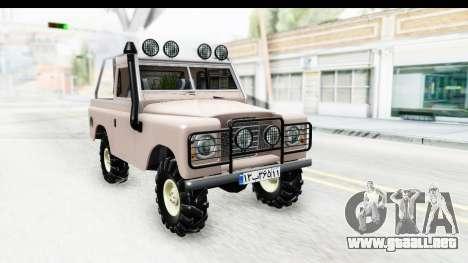 Land Rover Pickup Series3 para GTA San Andreas