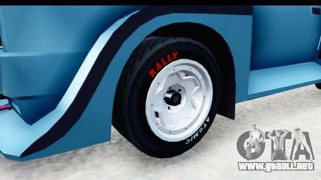 GTA 5 Obey Omnis para GTA San Andreas vista hacia atrás