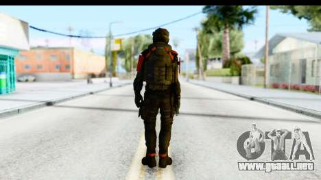 Homefront The Revolution - KPA v1 Black para GTA San Andreas tercera pantalla