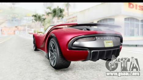 GTA 5 Pfister 811 with Mip Map para la visión correcta GTA San Andreas