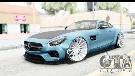Mercedes-Benz AMG GT Prior Design para GTA San Andreas