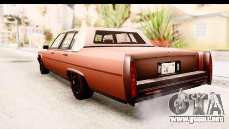 GTA 5 Albany Emperor SA Style para la visión correcta GTA San Andreas