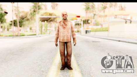 Left 4 Dead 2 - Zombie Shirt 2 para GTA San Andreas segunda pantalla