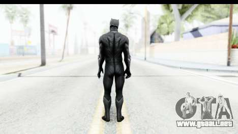 Marvel Heroes - Black Phanter (Civil War) para GTA San Andreas tercera pantalla