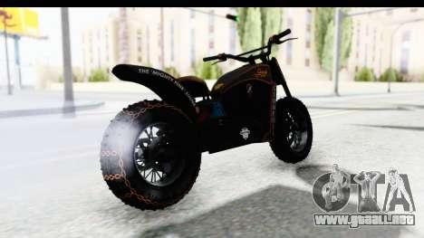 GTA 5 Western Gargoyle Custom v1 para GTA San Andreas left
