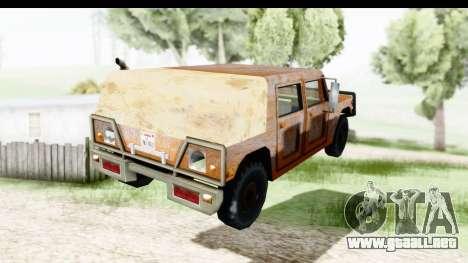 Rusted Patriot para GTA San Andreas left