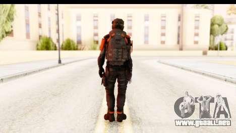 Homefront The Revolution - KPA v2 Black para GTA San Andreas tercera pantalla
