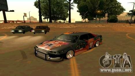 Toyota Chaser para GTA San Andreas