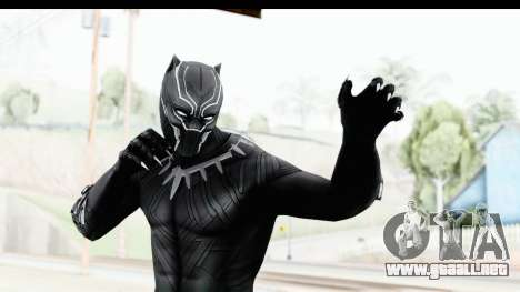 Marvel Heroes - Black Phanter (Civil War) para GTA San Andreas