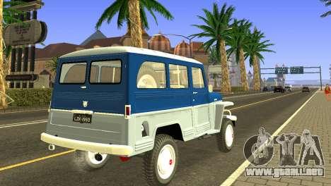 Jeep Station Wagon 1959 para la visión correcta GTA San Andreas