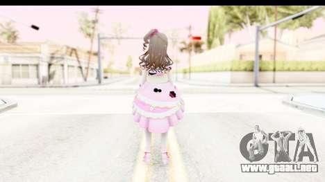 CGSS - Uzuki Peacefull Dance Rilaneko para GTA San Andreas tercera pantalla