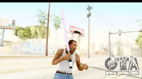 Sword Art Online II - Kiritos Saber para GTA San Andreas tercera pantalla