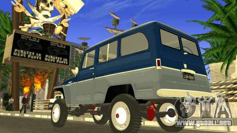 Jeep Station Wagon 1959 para GTA San Andreas left