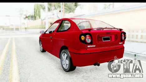 Renault Megane Coupe para GTA San Andreas left