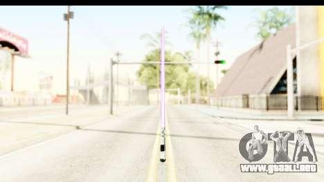Sword Art Online II - Kiritos Saber para GTA San Andreas segunda pantalla