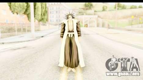 Bleach - Zaraki para GTA San Andreas segunda pantalla