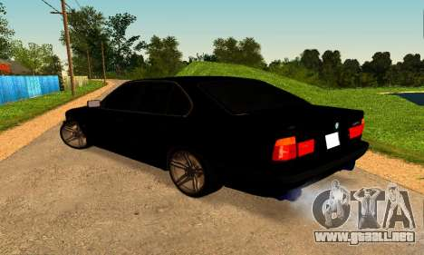 BMW 5-er E34 para GTA San Andreas left