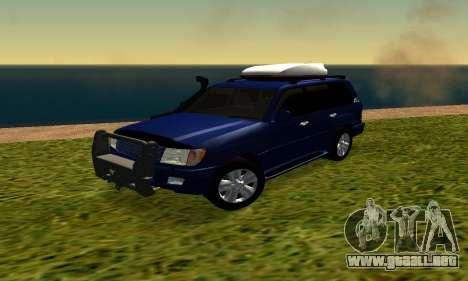 Toyota Land Cruiser 100vx2 para GTA San Andreas left
